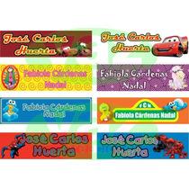 Etiquetas Personalizadas P Ropa Termoadheribles Taza Gratis