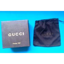 Gucci Caja Original Para Diversos 12 X 12 X 7 Cm. Buena Hm4
