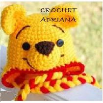 Gorros Tejidos Bebés Pooh Jake Boinas