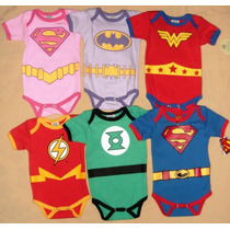 Pañaleros, Disfraz, Superheroes Batman Dc, Superman, Flash