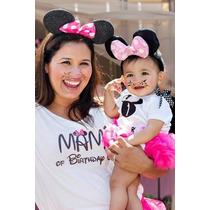 Pañalero Personalizado, Playeras Para Papas, Mickey, Minnie