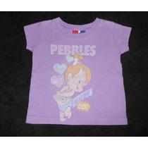 Baby Gap! Playerita Morada Vintage De Pebbles 18-24 Meses