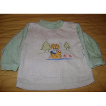 Pijama 2 Piezas Pantalon Camisa Para Bebe T 9-12 Meses Bolo