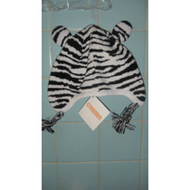 Gymboree Gorro De Zebra Super Padre Tala 3-4