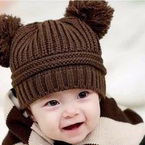 Gorro Para Niños Calientito Moda Coreana Diversos Colores