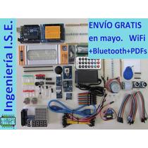 Kit Ed. Full Arduino Uno R3, 51 Comp., +220 Pzs Totales
