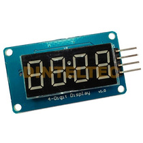 Modulo 4 Display 7 Segmentos Tm1637 Usalo Arduino Gps Hc-05