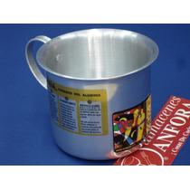 Aluminio Vaso 10 Cms. Esp. Mod.: 10633 Mrc.: Vasconia