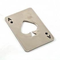 Destapador Forma De Naipe Carta As De Espadas Poker