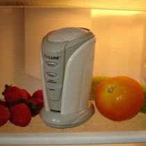Desodorante Y Purificador De Aire En Refrigerador Con Ozono