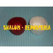*500 Minicapacillos Blancos O Rojos , Panquecitos, Cupcakes*