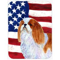 Bandera Americana Con Ee.uu. Junta De Corte Inglés Juguete