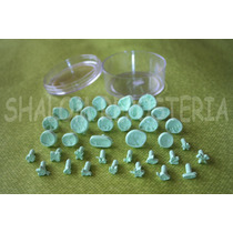 *kit 36 Sellos Marcadores Fondant Varios Pasta Flexible*