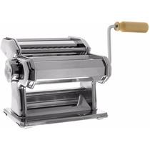 Laminadora Máquina Para Hacer Pasta Acero Cromado Imperia