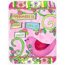 La Felicidad De La Flor En El Crecimiento De La Tarjeta De C