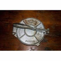 Prensa Metalica Para Hacer Tortillas Diametro 19cm