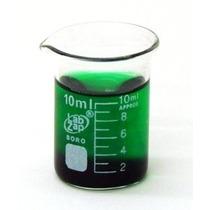Seoh Beaker Borosilicato Formulario Baja Glass Graduado 10ml
