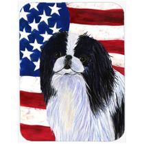 Bandera Ee.uu. De América Con El Japonés Chin Cristal Tabl