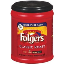 Folgers Coffee Ground Classic Roast Regulares Paquetes De 11