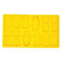 Forma De Silicon - Muñecos De Lego Y Bloque