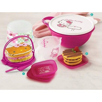 New Hello Kitty Pastelera Platitos Tupperware Reposteria