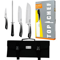 Tb Set De Cuchillos Top Chef By Master Cutlery 5-piece Chef