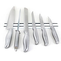 Cuchillos De Acero Con Imán 7pz. ¡afilador De Regalo!