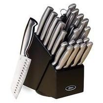 Juego De 22 Cuchillos De La Marca Oster Completamente Nuevo