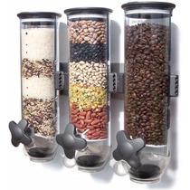 Nueva Dispensadora Triple De Cereal Empotrable