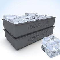 Chillz Blox Cubito De Hielo Grande De Whisky - Silicona Mold
