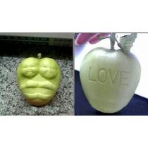 Molde Mediano En Forma Corazon Ideal Para Manzanas Y Peras