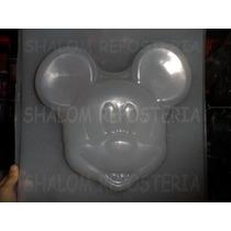 *molde Jumbo Para Hacer Gelatina De Cara Mickey Mouse Disney