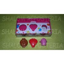 *kit 3 Moldes Cake Pops Cupcake Rosquilla Corazon Fondant*
