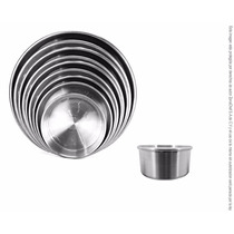 Molde Para Pastel Redondo De Aluminio 8 Cm