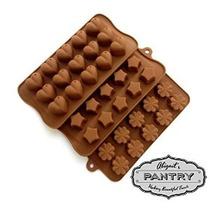 Chocolate Y Caramelo Moldes - Juego De 3 - Classic Edition (