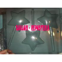 *molde Paletas De Chocolate De Estrella #1, Jabon Gomita*