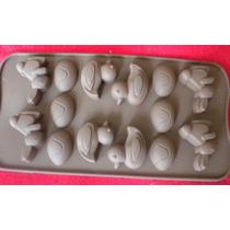 Molde De Silicón Tipo Chocolatero Figura De Animalitos