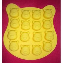 Molde De Silicón Con Figuras De Winnie Poo