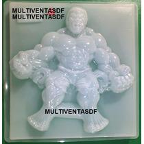 Molde Jumbo Para Gelatina ** Figura Hulk **