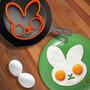 Molde De Silicón Para Huevo: Conejo, Buho O Calavera