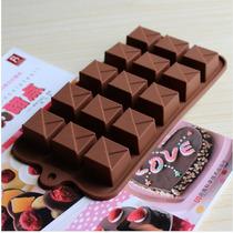 Molde De Silicon Para Chocolates En Forma De Caja
