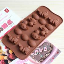 Molde De Silicon Chocolates Para Pascua Conejos Patos