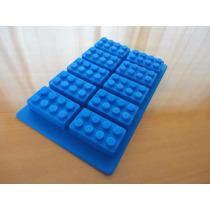 Molde Silicon Lego Block Jabón Diy O A Limentos