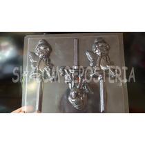 *molde Paletas De Chocolate Campanita Disney Hada Cuties*