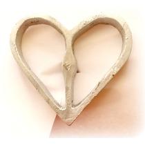 Molde Para Buñuelo De Viento Modelo Corazón Simple
