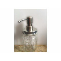 Mason Jar 16oz Con Tapa Para Dispensador De Acero Inoxidable