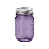 Mason Jar Vintage Purpura Edición De Colección 16oz. Morado