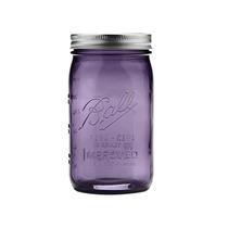 Mason Jar Vintage Purpura Edición De Colección 32oz. Morado