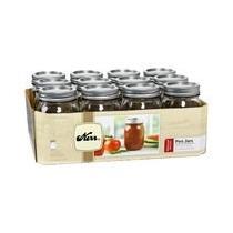 Fracos Conservas 16 Oz (mason Jar Kerr) Caja Con 12 Frascos