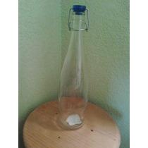 Frascos Y Recipientes Hermeticos De Cristal Botella 1.000 Ml